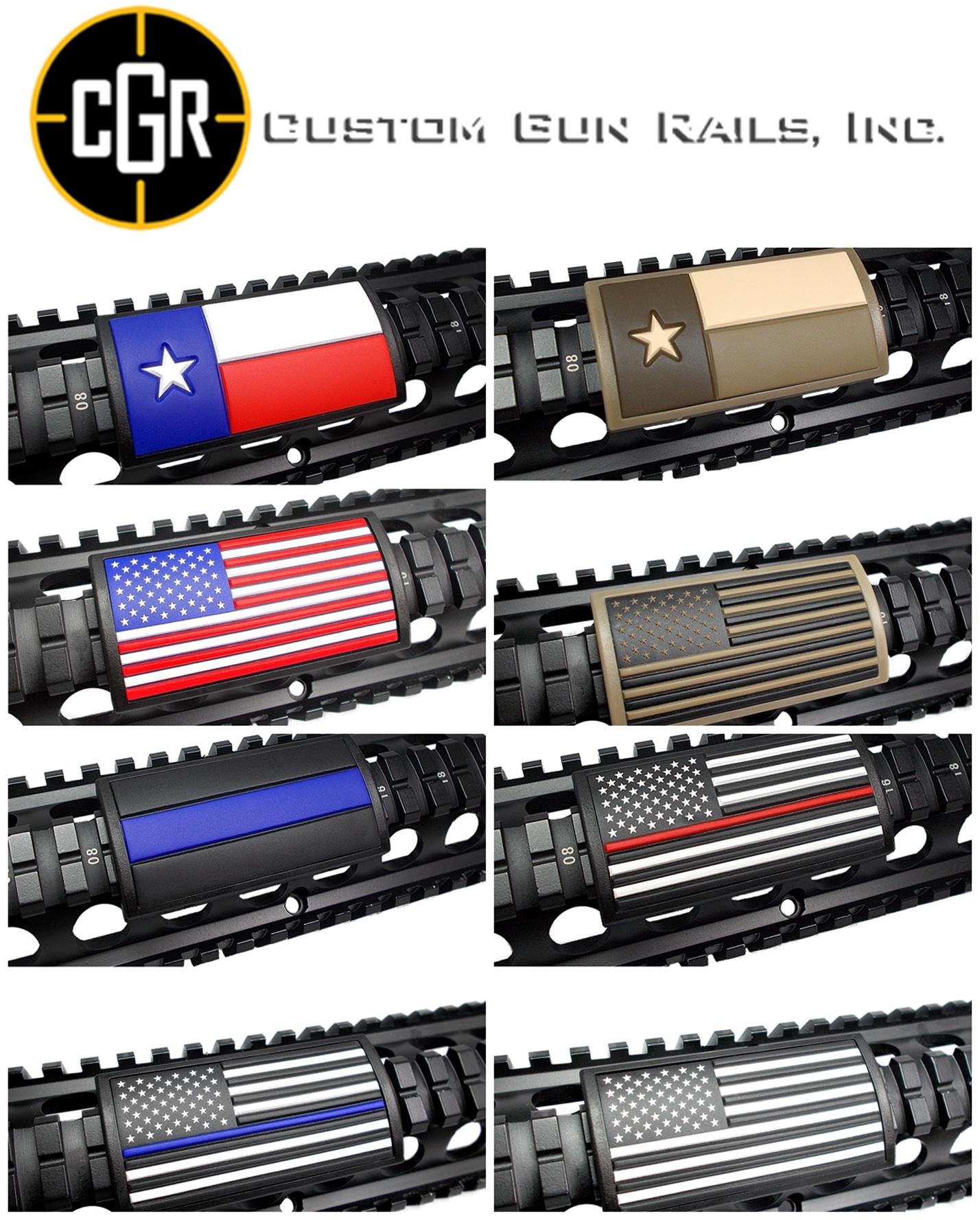 4-1 実物 CUSTOM GUN RAILS RAIL COVER !! PVC AMERICAN FLAG !! CUSTOM AR 15 次世代 M4 CQB-R NOVESKE N4 レイルカバー 購入 開封 取付 レビュー