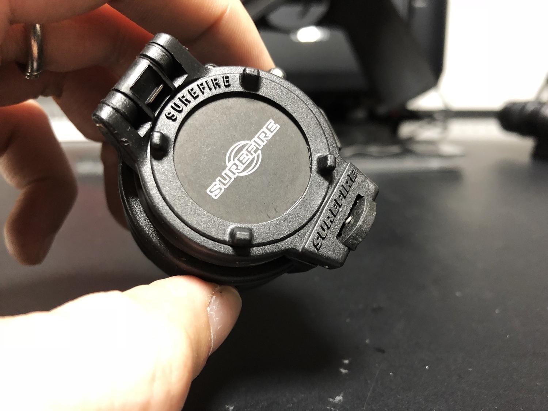 8 SUREFIRE FM47 OPAQUE FILTER FM4X 1 37 BEZEL VAMPIRE M952V M900V IR シュアファイアー カバーフィルター ウェポンライト 検証 取付 レビュー!!