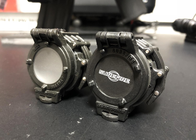 9 SUREFIRE FM47 OPAQUE FILTER FM4X 1 37 BEZEL VAMPIRE M952V M900V IR シュアファイアー カバーフィルター ウェポンライト 検証 取付 レビュー!!
