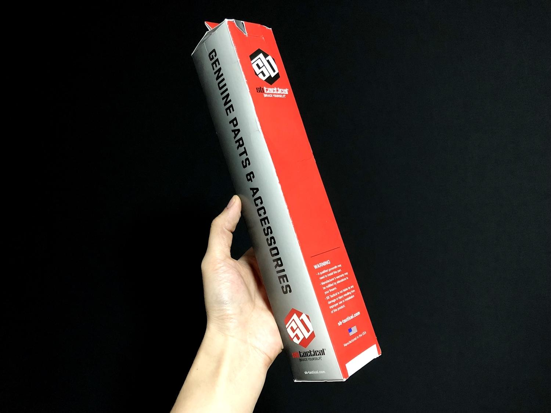 4 実物 SB TACTICAL SBM4 STABILIZING BRACE BLACK + STDTUBE AR PISTOL STD BUFFER TUBE ストック 購入 取付 比較 レビュー!! 次世代M4 CQB-R へ取付けてやるの巻!!