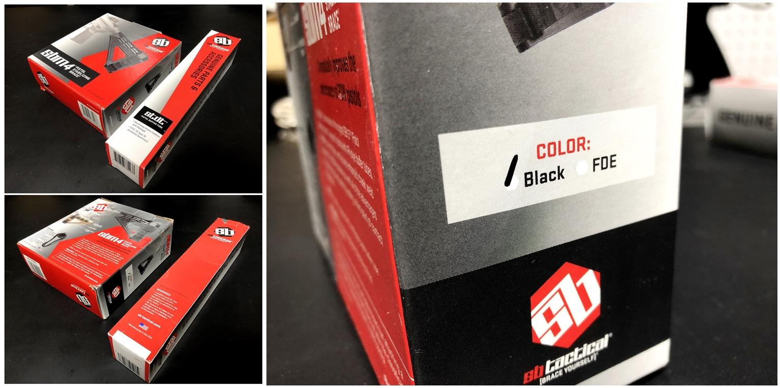 5 実物 SB TACTICAL SBM4 STABILIZING BRACE BLACK + STDTUBE AR PISTOL STD BUFFER TUBE ストック 購入 取付 比較 レビュー!! 次世代M4 CQB-R へ取付けてやるの巻!!