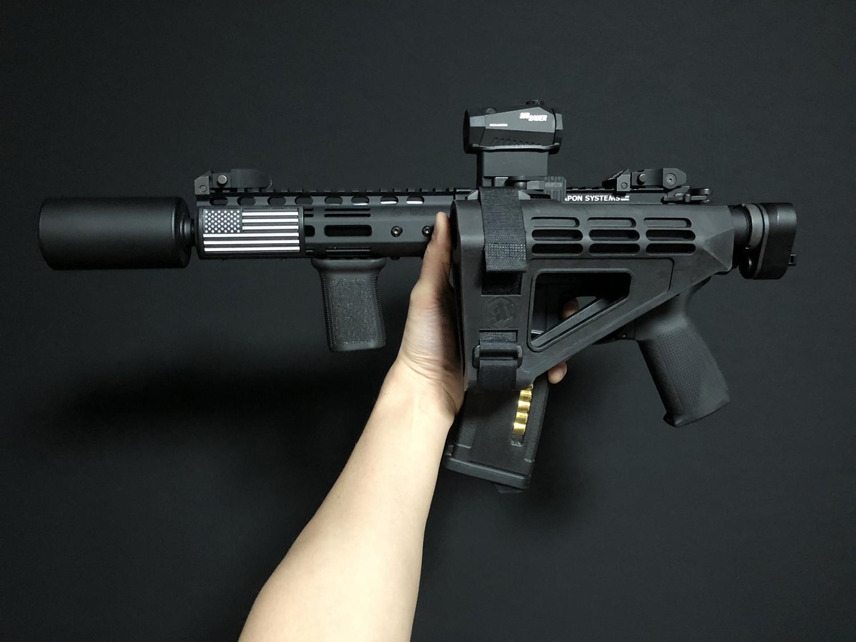 次世代 M4 CQB-R AR-15 PISTOL SB TACTICAL SBM4 CUSTOM!! 実物ストック 折りたたみ リコイルオミット 大作戦 Vol2 仕様 カスタム 加工 取付 結果 レビュー!!