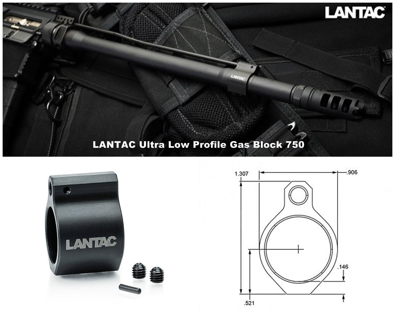 3 実物 LANTAC ULTRA LOW PROFILE GAS BLOCK 750 AR15 556 MADE IN THE USA ガスブロック 購入 取付 次世代 M4 CQB-R カスタム レビュー!!