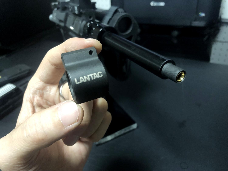 5 実物 LANTAC ULTRA LOW PROFILE GAS BLOCK 750 AR15 556 MADE IN THE USA ガスブロック 購入 取付 次世代 M4 CQB-R カスタム レビュー!!