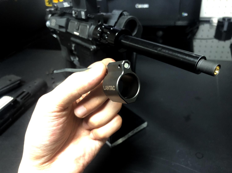 8 実物 LANTAC ULTRA LOW PROFILE GAS BLOCK 750 AR15 556 MADE IN THE USA ガスブロック 購入 取付 次世代 M4 CQB-R カスタム レビュー!!