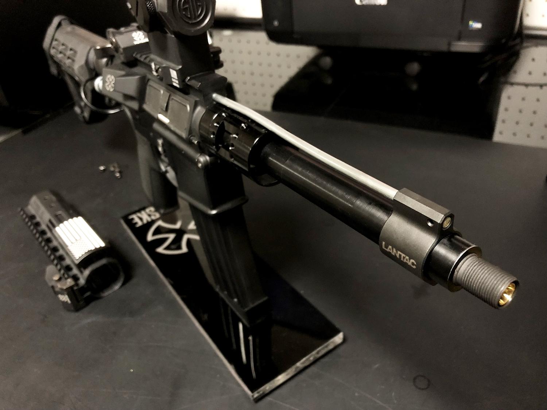 12 実物 LANTAC ULTRA LOW PROFILE GAS BLOCK 750 AR15 556 MADE IN THE USA ガスブロック 購入 取付 次世代 M4 CQB-R カスタム レビュー!!