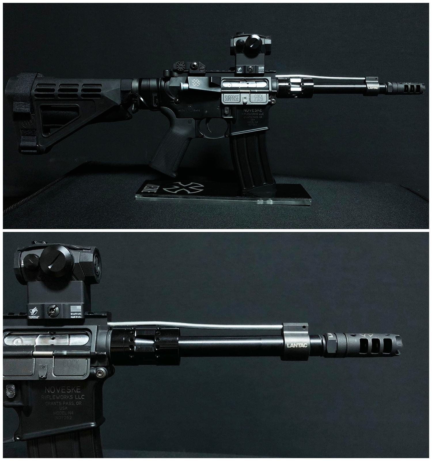 14 実物 LANTAC ULTRA LOW PROFILE GAS BLOCK 750 AR15 556 MADE IN THE USA ガスブロック 購入 取付 次世代 M4 CQB-R カスタム レビュー!!
