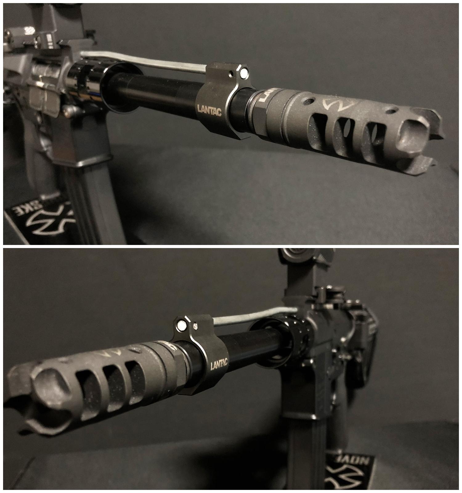 15 実物 LANTAC ULTRA LOW PROFILE GAS BLOCK 750 AR15 556 MADE IN THE USA ガスブロック 購入 取付 次世代 M4 CQB-R カスタム レビュー!!