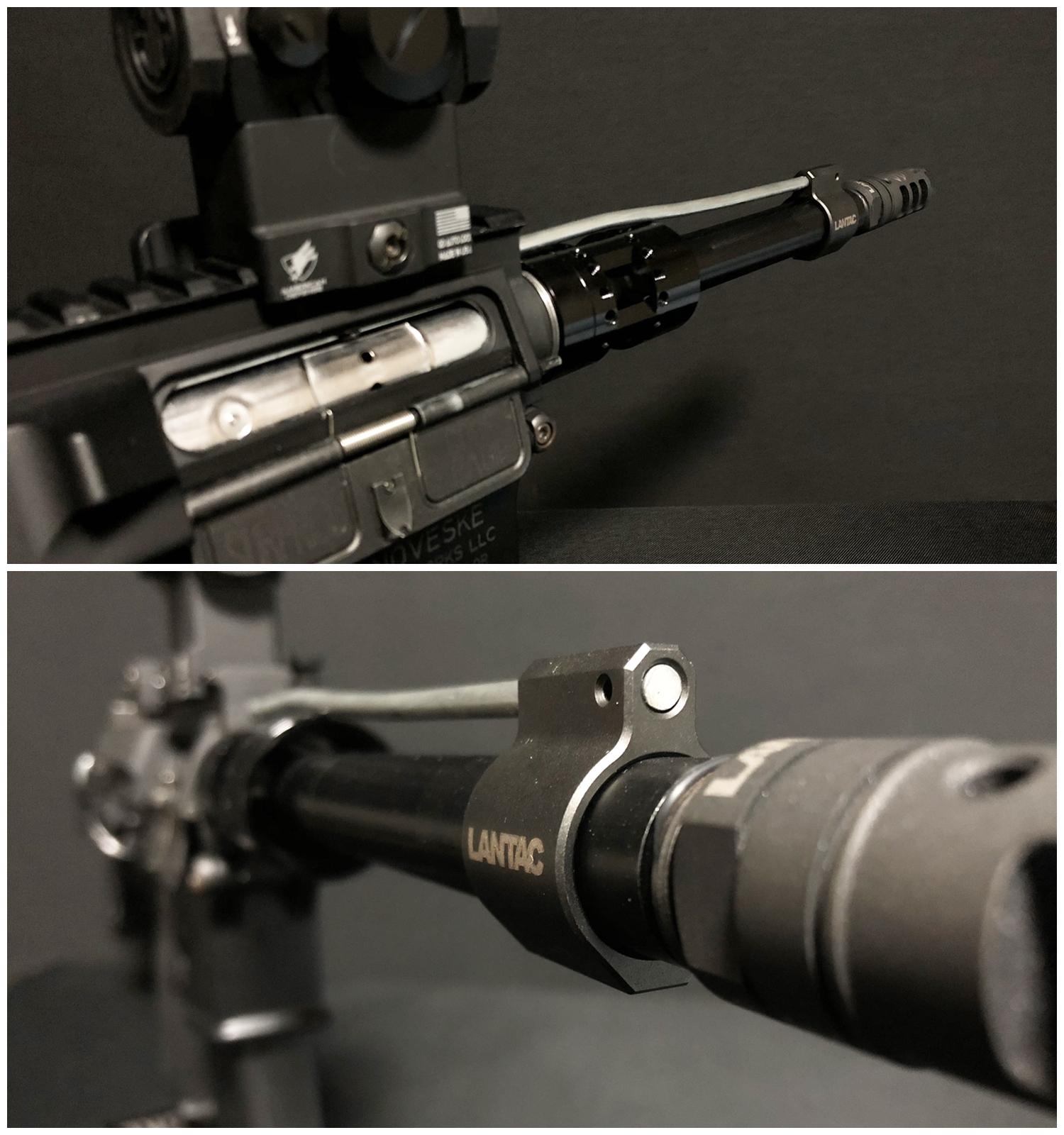 16 実物 LANTAC ULTRA LOW PROFILE GAS BLOCK 750 AR15 556 MADE IN THE USA ガスブロック 購入 取付 次世代 M4 CQB-R カスタム レビュー!!