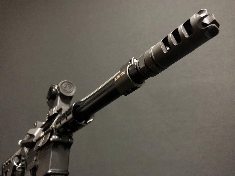 17 実物 LANTAC ULTRA LOW PROFILE GAS BLOCK 750 AR15 556 MADE IN THE USA ガスブロック 購入 取付 次世代 M4 CQB-R カスタム レビュー!!
