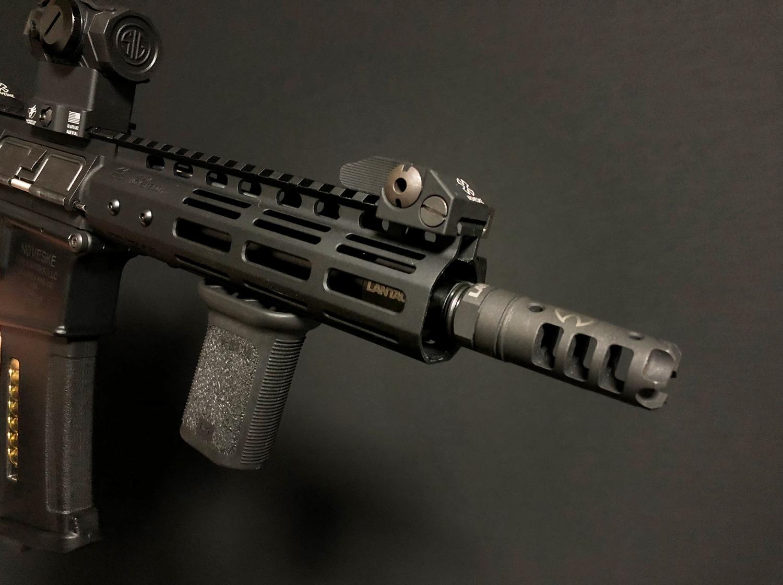 23 実物 LANTAC ULTRA LOW PROFILE GAS BLOCK 750 AR15 556 MADE IN THE USA ガスブロック 購入 取付 次世代 M4 CQB-R カスタム レビュー!!