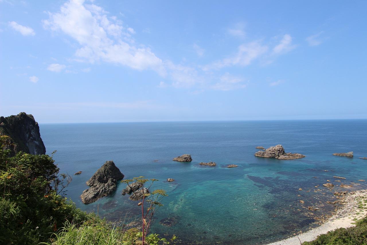 島武意海岸②