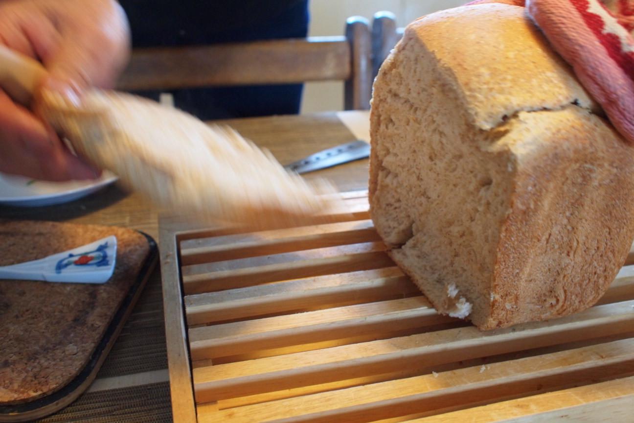 自家製ライ麦パン!