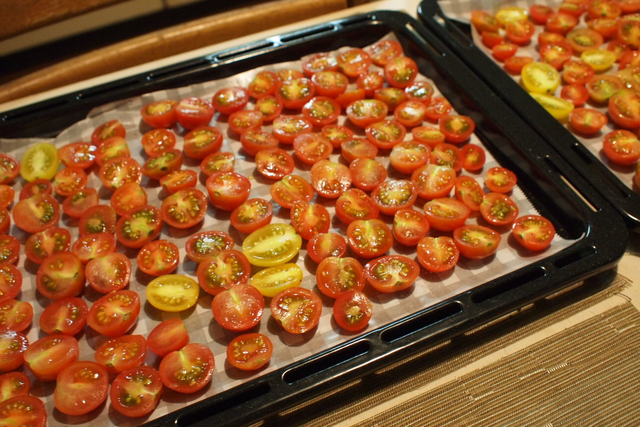 ドライミニトマト!