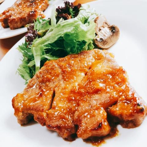 2018-07-12-豚肉洋風生姜焼き