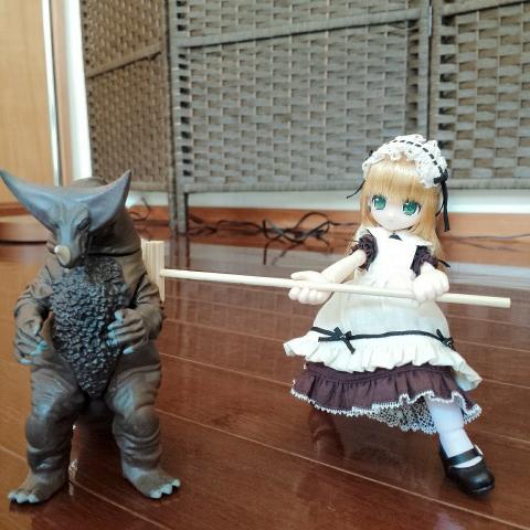 2018-07-16-ゴモラVSリルフェアリー リプー攻撃