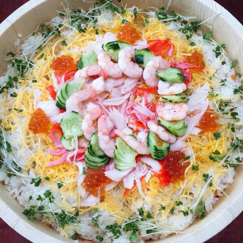 2018-07-24-彩りチラシ寿司