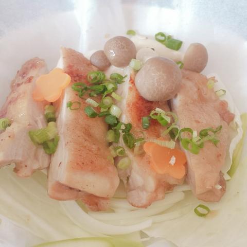 2018-09-05-鶏モモ肉紙包焼き