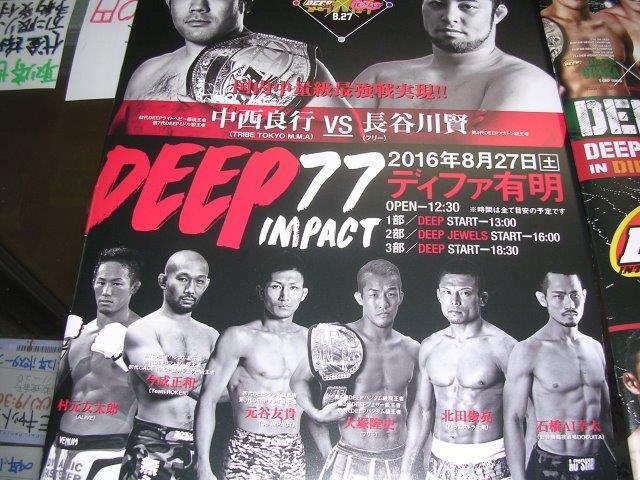 DEEP77パンフ