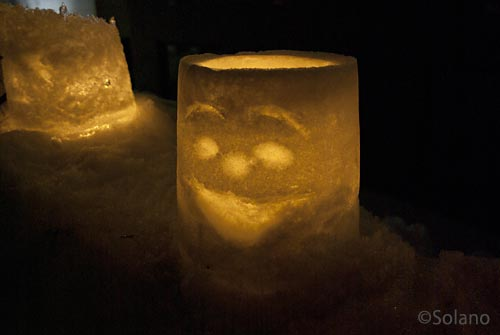 冬の定番イベント・小樽雪あかりの道、スノーキャンドル