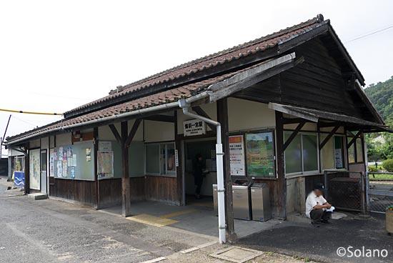 JR西日本・吉備線、もうすぐ取り壊しとなる備前一宮駅の木造駅舎