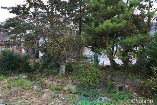 JR九州・日田彦山線・石原町駅の廃れた池庭跡