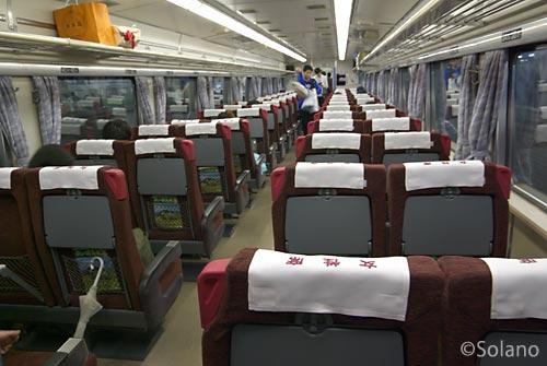 札幌発釧路行き夜行特急列車まりも、出発後の指定席