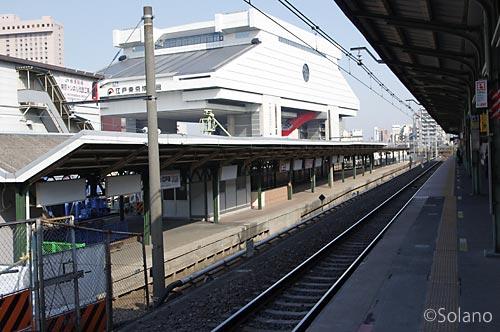 総武線・両国駅、ターミナル駅の風情残す3番線ホーム