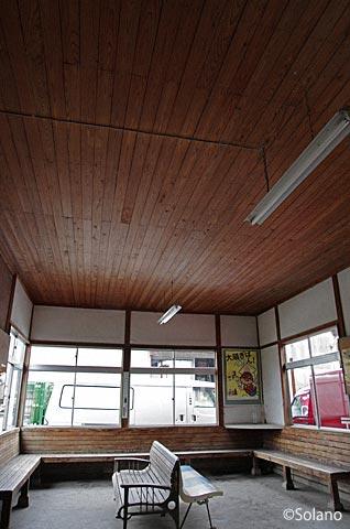 JR西日本・三江線、趣き深い因原駅の木造駅舎