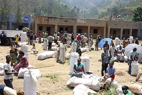 陽気なルワンダの人々