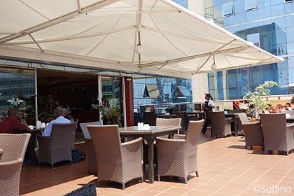 ルワンダのカフェーチェーン店ブルボンコーヒー
