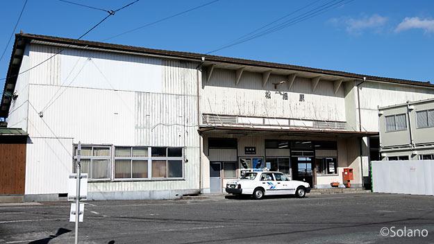 JR九州・鹿児島本線、取り壊しが迫る松橋駅駅舎