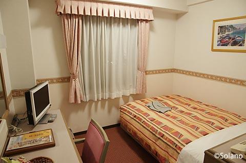 津山駅前のホテル、ホテルアルファーワン津山