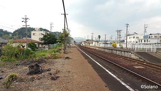 JR東海・高山本線、古井駅、下りプラットホーム