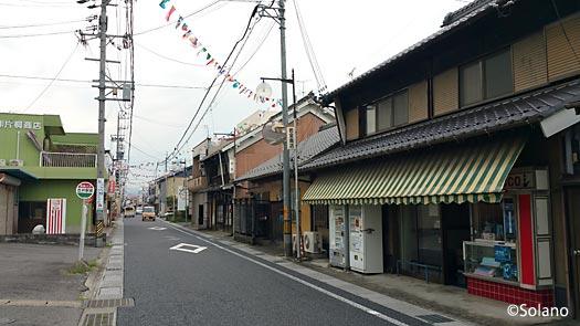 JR高山本線・古井駅、昔ながらの風情の駅前通り