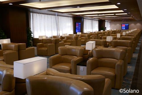 上海浦東国際空港、中国東方航空ビジネスクラスラウンジ