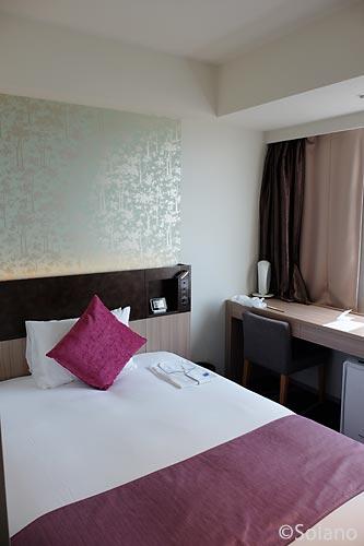 ホテルメトロポリタン・さいたま新都心、シングルルーム客室