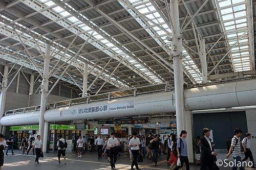 JR東日本・さいたま新都心駅