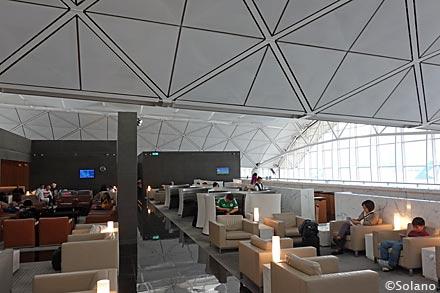 キャセイ香港空港ビジネスクラスラウンジ、ザ・ウイング