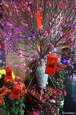 CX香港国際空港ラウンジ、中国旧正月の飾り