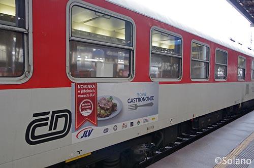プラハ‐ウィーン特急EC、チェコ鉄道の所有の食堂車