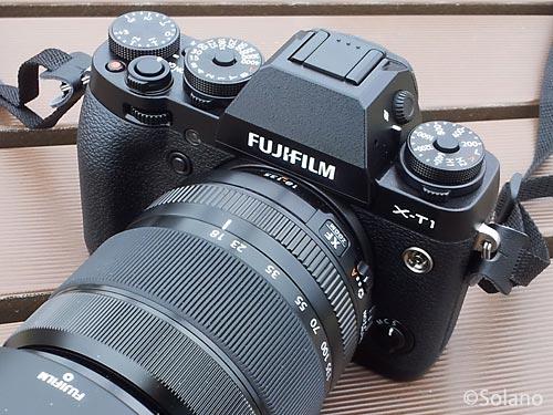 富士フィルムのミラーレス一眼、X-T1とレンズ・XF18-135