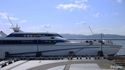 熊本港‐島原港間、有明海を渡る高速船