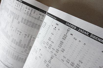 ヨーロッパ鉄道時刻表のページ