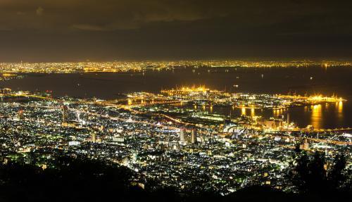 神戸の夜景・真耶山掬星台より・兵庫・2013・6・6・500px・ぱくたそ