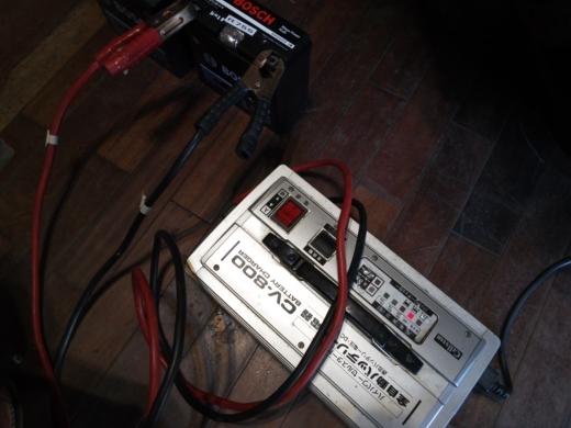 単車バッテリー交換 (5)