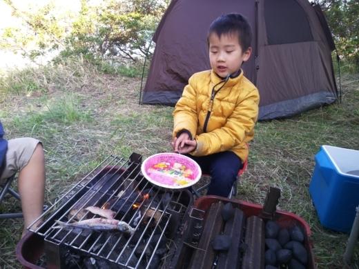 勝尾崎キャンプ場1日目 (16)