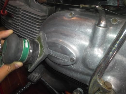アエルマッキエンジン磨き (4)