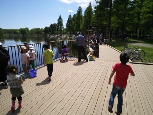 舎人公園で釣り (13)
