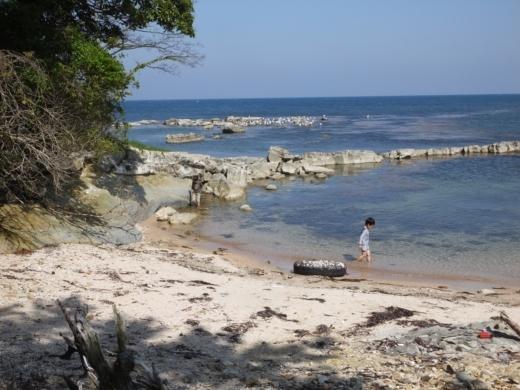 能登島の海 (1)